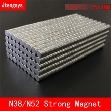 Jtengsys 100pcs/lot Super Strong Rare Earth mini 6mm x 2mm Permanet Magnet Round Neodymium N52 N38 6*2MM