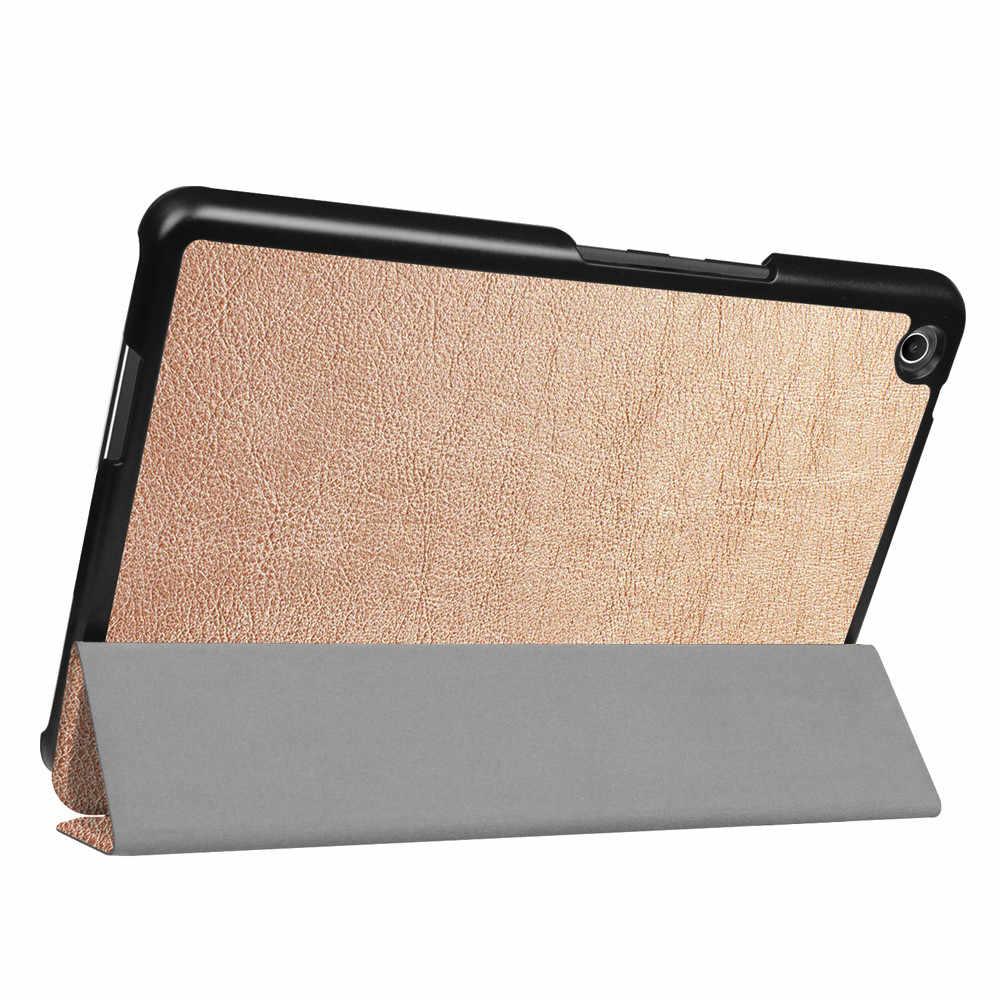 רשמי המקורי מגן מקרה באיכות גבוהה במיוחד עור Stand Case כיסוי עבור Asus Zenpad 3 8.0 (Z581KL) 7.9 אינץ # ZS