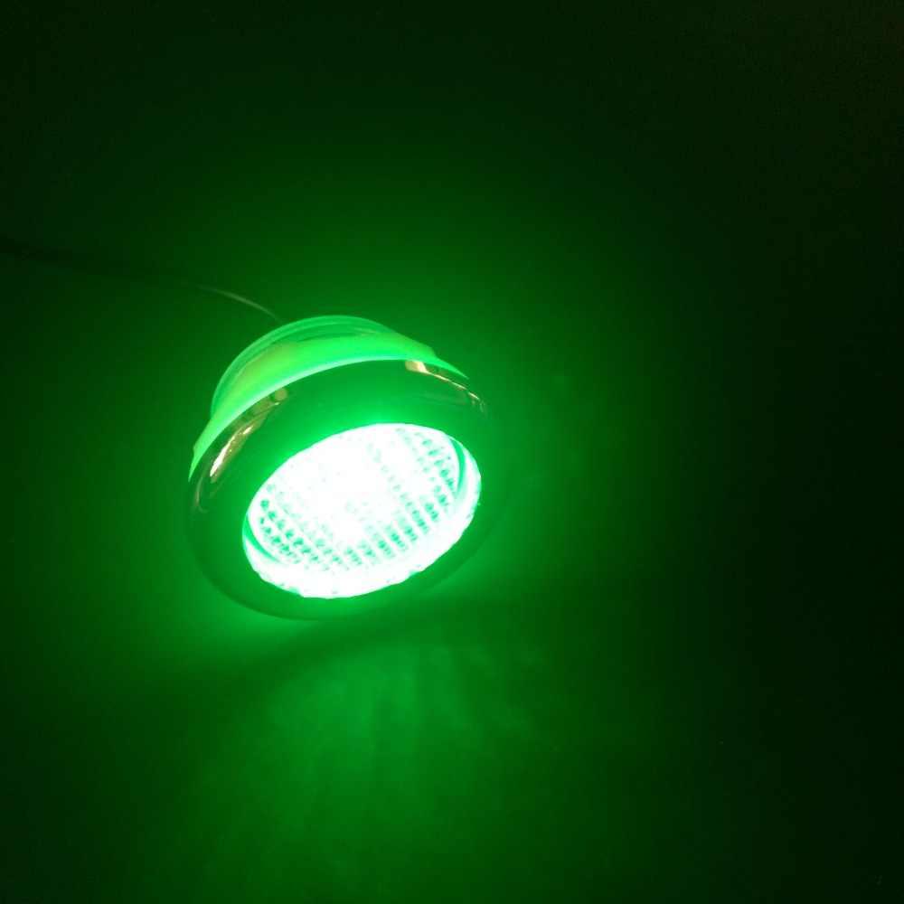 Luci Led Per Cromoterapia 1pcs rgb impermeabile 2 pin cambiare automaticamente luci a
