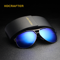 HDCRAFTER Top Quality Sunglasses Men Polarized Brand Designer 2016 Fashion Driving Sun Glasses Mens Sunglasses