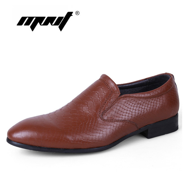 Fashion Genuine Leather Men Oxford Shoes, Lace Up Casual Business Dress Shoes, Plus Size Men Wedding Shoes, Men Flats Shoes