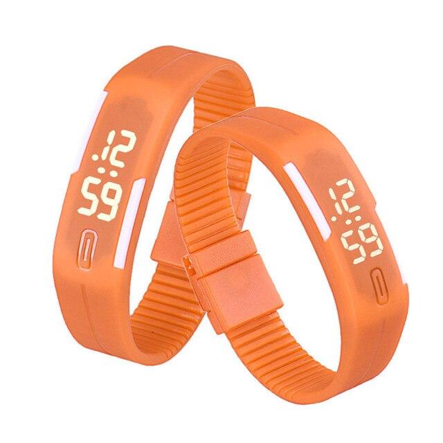 Zegarek dziecięcy opaska kolorowa sportowy styl różne modele