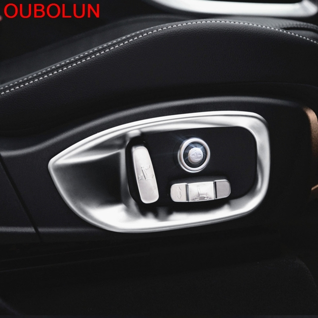 Fit For Jaguar F Pace F Pace X761 2016 2017 Abs Chrome Car Seat