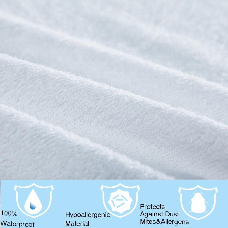 Matelas All Size Terry Waterproof Mattress Protector Cover For Bed Wetting And Bug Suit Russian In Covers Grippers From
