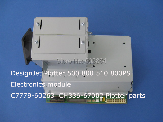 C7779-69263 CH336-67002 for HP DesignJet Plotter 500 800 510 800PS Electronics module