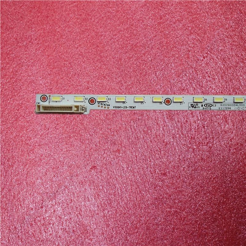 New 1 PCS 68LED 620MM LED Strip V500H1-LE6-TREM7 For V500HJ1-LE8 LED50M5580AF