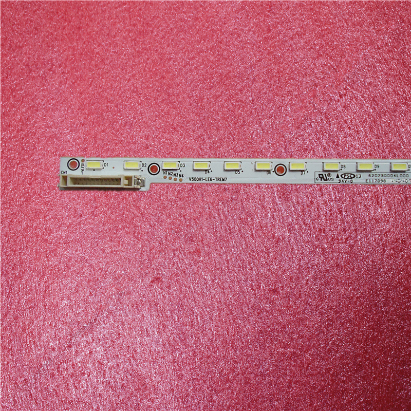 Nowy 1 sztuk 68LED 620 MM taśmy LED V500H1-LE6-TREM7 dla V500HJ1-LE8 LED50M5580AF