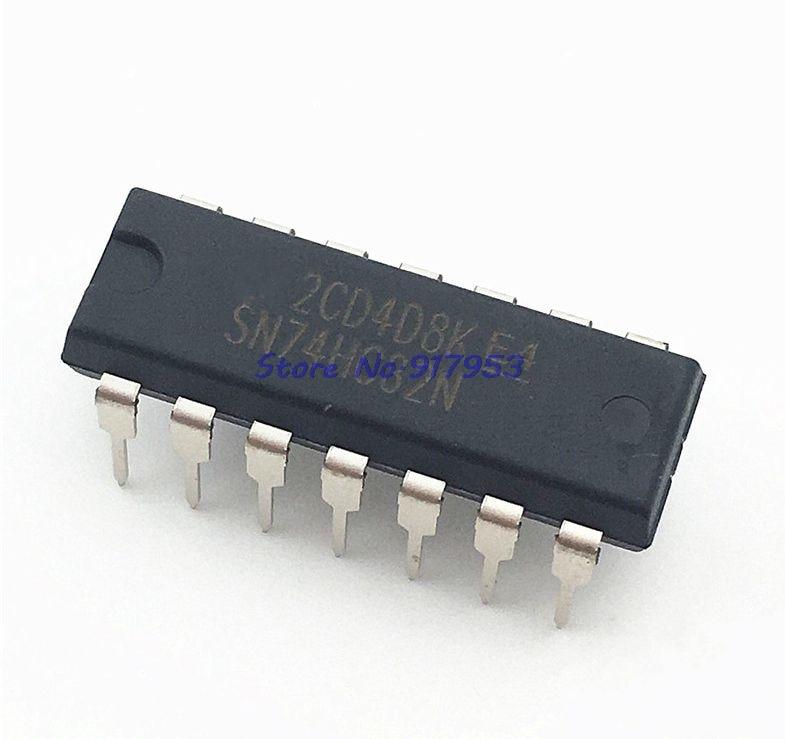 10pcs/lot SN74HC32N SN74HC32 DIP14 DIP 74HC32N 74HC32 New Original In Stock