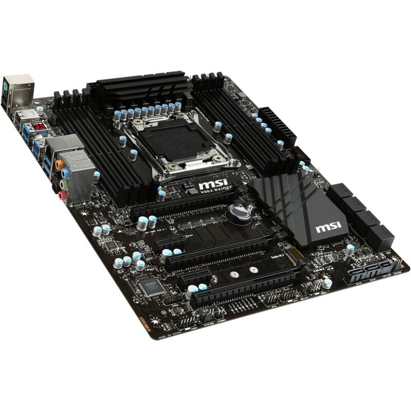 MSI X99A RAIDER game board board computer server workstation motherboard support I7 6800k
