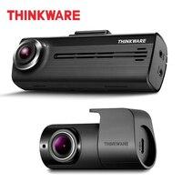 Thinkware регистраторы F200 2 канальный автомобильный черный корпус цифрового видеорегистратора Full HD 1080 P Авто с заднего вида камера видеорегистр