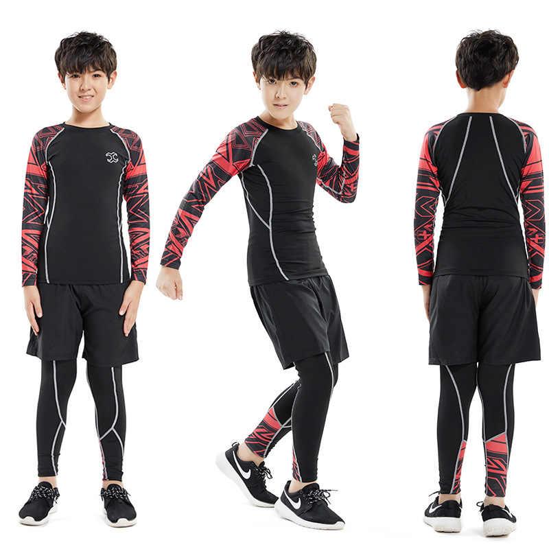 Детский баскетбол одежда для спортзала фитнеса Детский костюм для бега для мальчиков Мужская спортивная одежда для бега Спортивная одежда для малышей спортивный костюм
