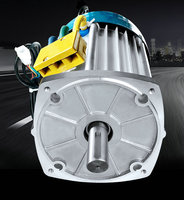 60V72V3000W DC Permanent Magnet Brushless Differential Motor Forklift/Electric Bicycle/Moped Bicycle/Power Car Accessories Motor