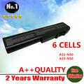 Wholesales New 6 cells Laptop battery For asus N50 N50VC N51 N51A N51S  N51V,A32-N50 A33-N50 90-NQY1B1000Y  free shipping