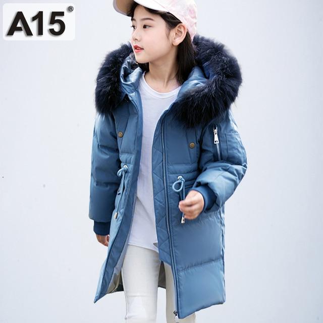 f9030334c779 Aliexpress.com   Buy 2018 New Children Winter Jacket Girl Winter ...