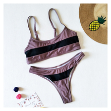 Brand Design Womens Bikini Split Slim Shoulder Strap Made In China Swimwear Summer Beach Style Vacation Essentials