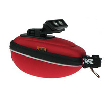 Outdoor Cycling Mountain Bike Bicycle Saddle Bag Back Seat Tail Pouch Package Hard Bags Red/Gray/Blue/Black/Orange 4Colors