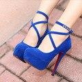 O envio gratuito de mulheres sapatos bombas sapatos de salto alto zapatos mujer zapato femenino de tacon alto sapato de salto alto verão