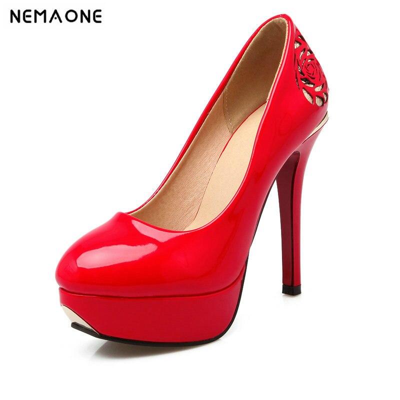 Otoño Zapatos Y Primavera Club Mujeres Erógenas Negro Las Alto Moda Delgada rojo blanco De Punta 2019 Bombas Super Tacón Baile Boda aw7Oqq