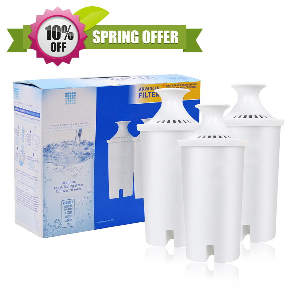 2016 Hot Sale Household Purify Kettle Direct Drinking Water <font><b>Filters</b></font> Purifier Activate Carbon <font><b>Replacement</b></font> for <font><b>Brita</b></font> <font><b>Pitcher</b></font> 10Cup