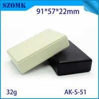 25 ピース/ロットハウジング abs 樹脂ジャンクションボックス eletronics abs 材料キャビネット diy pcb 設計 91 × 57 × 22 ミリメートルプラスチックジャンクションボックスケース