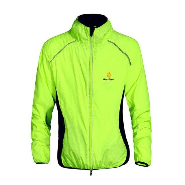 2018 100% NEW Men Cycling Jacket MTB Bicycle Bike Rain Jacket Raincoat Long  Sleeve Outdoor Sport Windproof Cycle Clothing 1b2ad0d1d