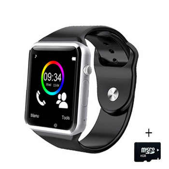 A1 WristWatch Bluetooth Smart Watch Sport Pedometer Tracker Sync Smartwatch For Android Smartphone Russia T15 PK DZ09 GT08 Y1 - DISCOUNT ITEM  15% OFF All Category