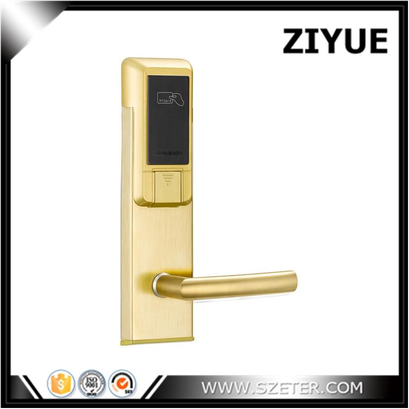 цена на Intelligent Stainless Steel RFID  Key Fobs Card Hotel Room Door Lock for Safe ET103RF