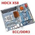 Новый оригинальный материнская плата X58 Extreme платы LGA 1366 DDR3 24 ГБ ATX mainboard для X5570 X5650 W5590 X5670 L5520 CPU Бесплатная доставка