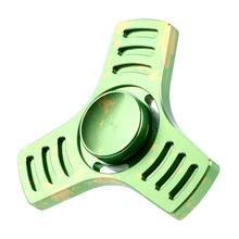 Fidget Spinner Triangle Single Finger Ball Desk Focus Relieves ADHD Anxiety Autism Gyro Toy EDC For Kids Gift 2017 may10