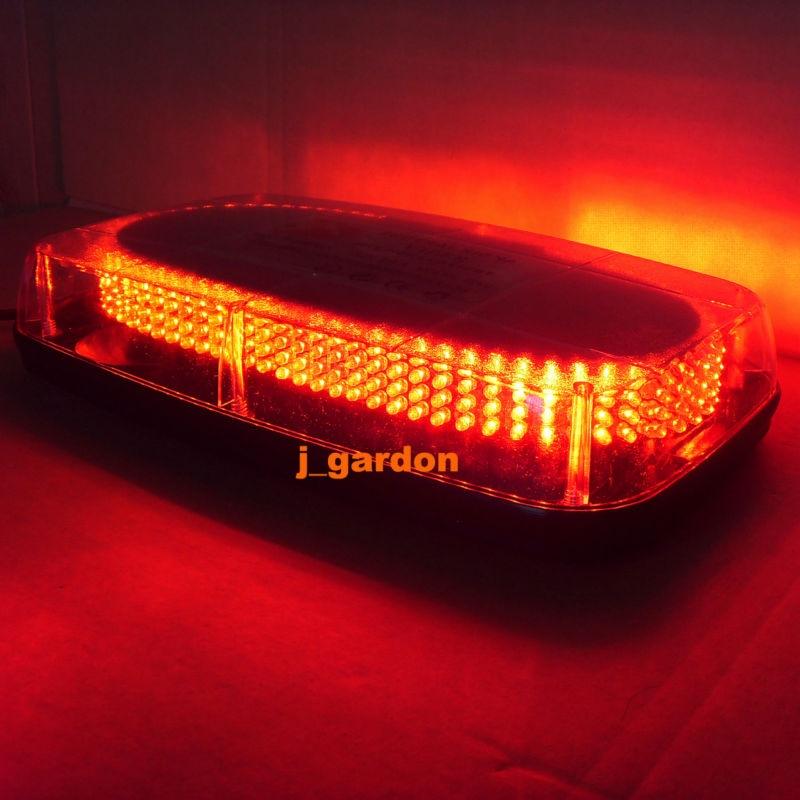 Вслед 36см 304 светодиодов аварийного восстановления Строб lightbar проблесковый маячок Водонепроницаемый Магнит свет СИД предупреждающий Красный световой