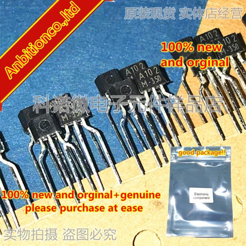 10pcs 100% New And Orginal A102 KRA102M A102M 2SA102M TO-92S EPITAXIAL PLANAR PNP TRANSISTOR In Stock