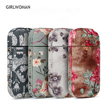 GIRLWOMAN New Arriving IQOS 2.4 Plus Case Pouch Bag Protective Holder Cover Wallet Electronic Cigarette IQOS PU Leather Case