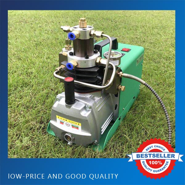 0 40mpa High Pressure Air Pump Water Cooling 1 8KW Electric Inflator PCP Air Compressor 220V