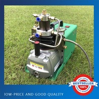 0 40mpa High Pressure Air Pump Water Cooling 1.8KW Electric Inflator PCP Air Compressor 220V 50HZ