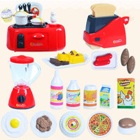 Kids Kitchen Toy Hose Play Roleplay Pretend Microwave Oven Vacuum Cleaner