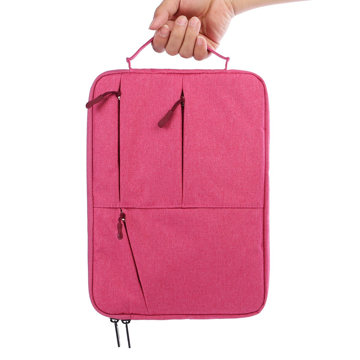 15Inch Waterproof Nylon Laptop Sleeve Laptop Bag Case for MacBook Pro Bag with Zipper fo ...