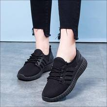 Black Sneakers Women Mesh Casual Shoe Tenis Feminino Woman Shoes Moda Mujer 2019 Brand Designer Shoes Red
