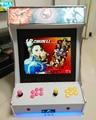 2016 casa consola De jogos de Arcade, duplo jogador Jogo de Arcade Machin 645 em 1 jogos de tabuleiro/P Box4 pcb casa Cocktail