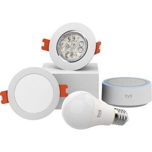 Image 4 - Xiaomi mijia yeelight bluetooth Mesh Version smart light bulb and downlight ,Spotlight work with yeelight gateway to mi home app
