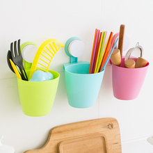 Plastic hanging multi-purpose storage basket bathroom miscellaneously