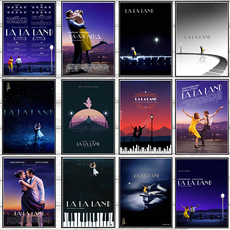 LALALAND Posters Wall Stickers Home Decoration White Coated Paper High Definition 42*30cm