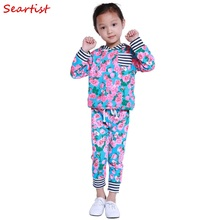 цены New Fashion Baby Girls Boys Winter Autumn Spring Clothing Sets Kids Cotton Suits