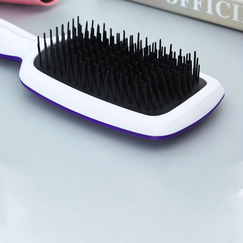 OLOEY 9 Colors Professional Exquisite Cute Useful Comb Salon Styling Hair Brush Detangling Combs Hair Styling Tool