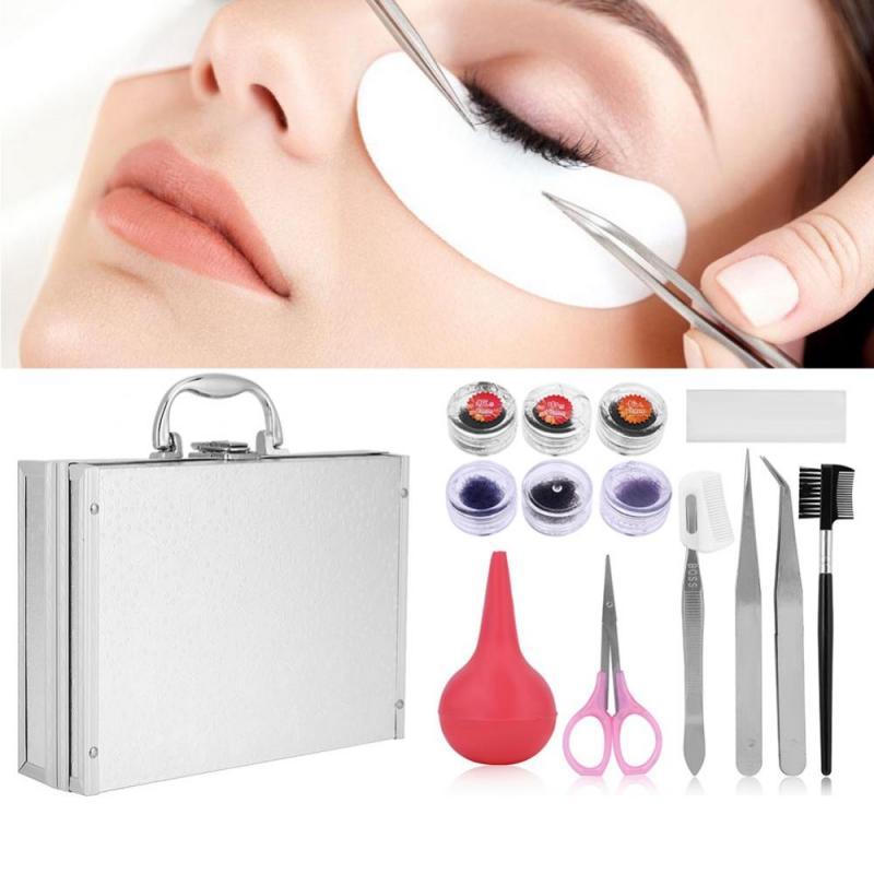 Makeup False Eyelash Extension Starter Practice Pro Kit