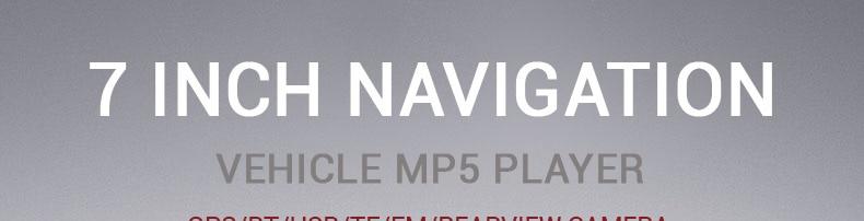 Navigation Gps Voiture Multimédia 7 Pouce Caméra Lecteur 2din Carte FlK3T1ucJ5