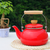 Japanese enamel Household kettle Gas stove induction cooker universal Chinese medicine pot Teapots