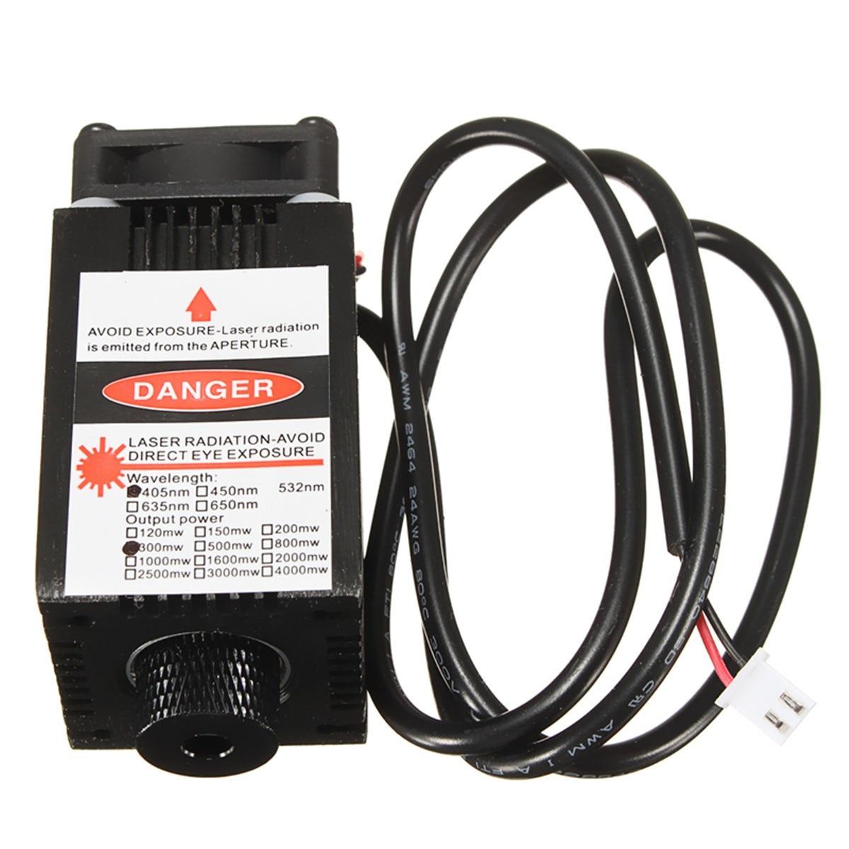 405nm 300mW Laser Engraving Machine Module For DIY Engraver пежо 405 масляный насос
