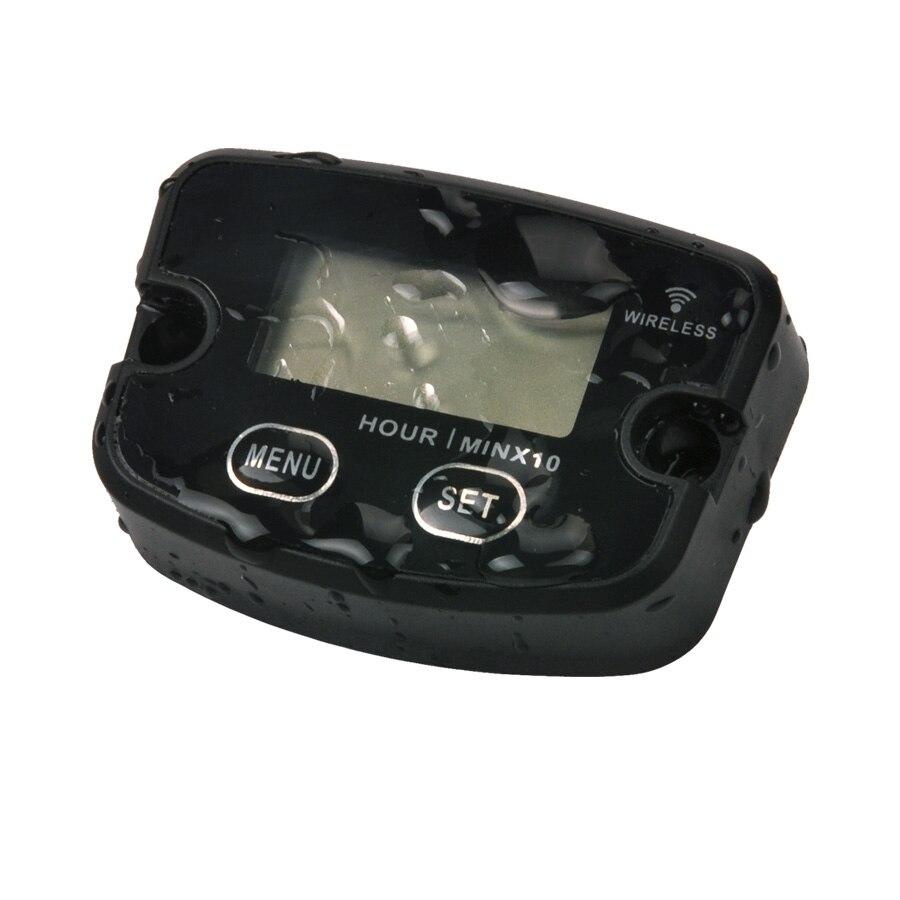 Compteur d'heure sans fil de Vibration imperméable pour les pompes à eau de tracteur de moteur diesel de moto