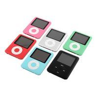 Slim MP3 8GB 1 8 LCD Media Video Game Movie Radio FM 3th Generation MP3 Player