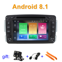 Android 8.1 Car DVD Player for Mercedes/Benz W203 S203 W209 C209 W639 with GPS Radio BT WiFi